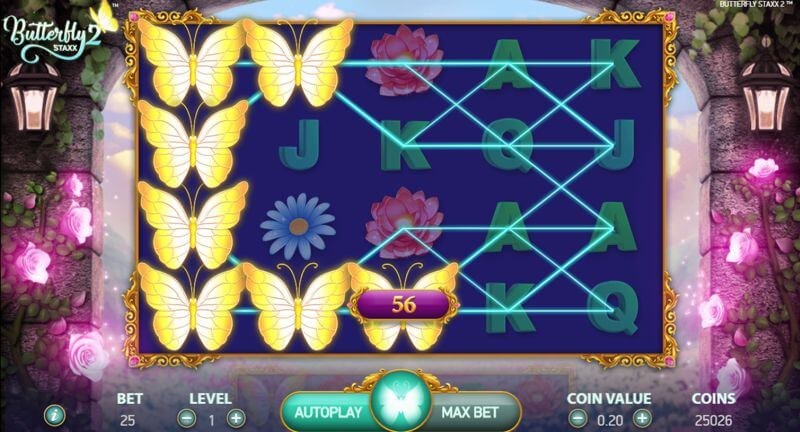 Butterfly Staxx 2 Video Slot Game