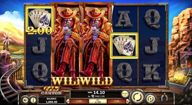 Gold Canyon Video Slot Game
