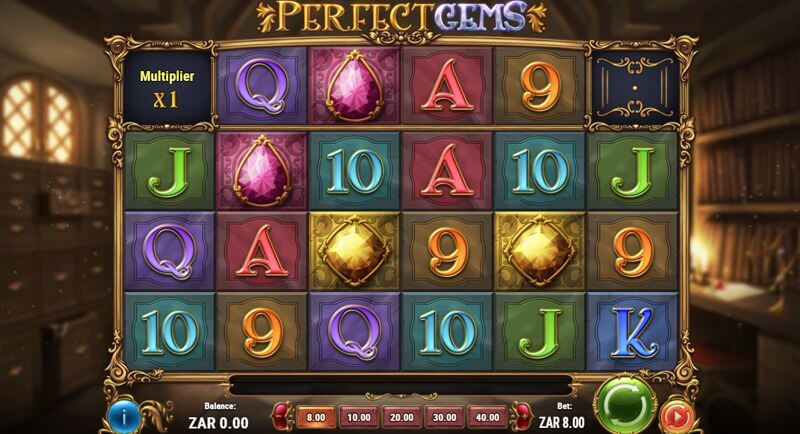 Perfect Gems Video Slot Game