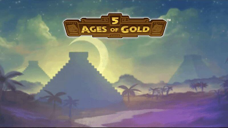 5 Ages of Gold is a Mayan Themed Slot Game by Playtech