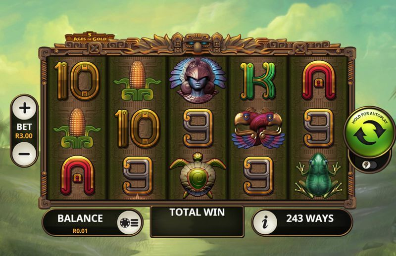 5 Ages of Gold Video Slot Game
