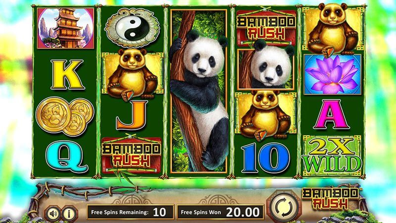 Bamboo Rush Free Spins