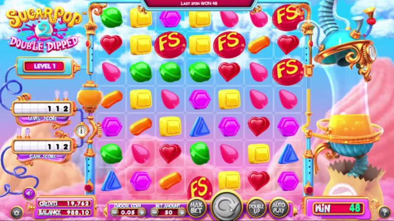 Sugar Pop 2 Double Dipped Slot Game