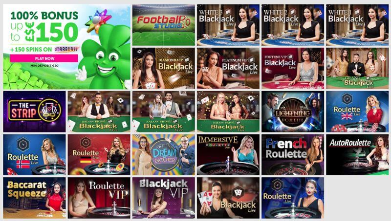 CasinoLuck Live Dealer Casino