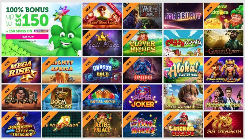 CasinoLuck Video Slot Games