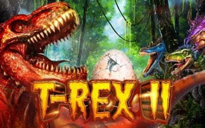 T-Rex II is a Stomping Sequel to the Original Dinosaur Slot