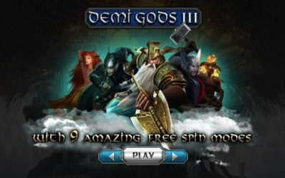 Demi Gods III is another Epic Slot Release from Spinomenal