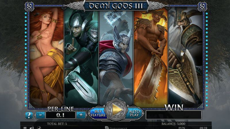 Demi Gods III Video Slot Game