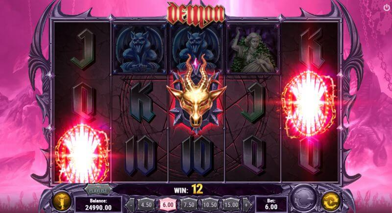 Demon Video Slot Game