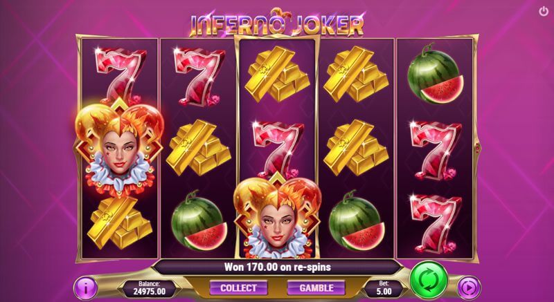 Inferno Joker Video Slot Game