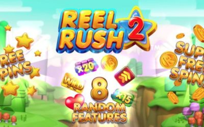 You never know what you're going to get in Reel Rush 2!