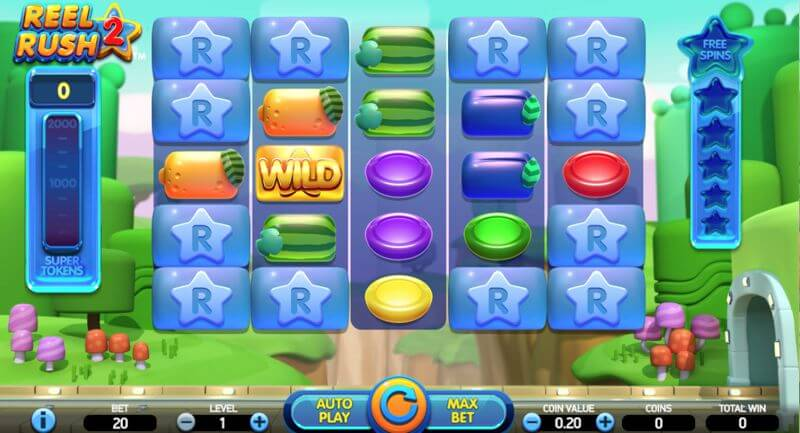 Reel Rush 2 Slot Game