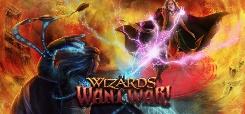 Wizards Want War! Slot Game