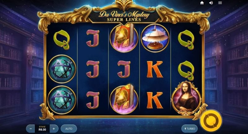 Da Vinci's Mystery Video Slot Game