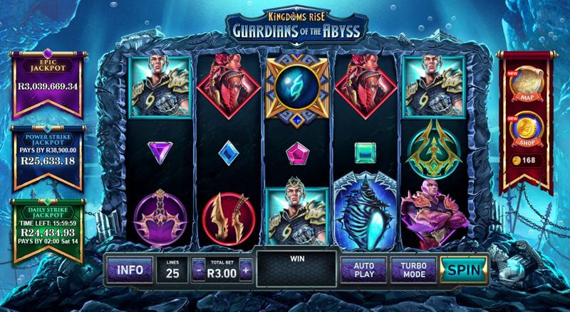 Kingdoms Rise Guardians of the Abyss Video Slot Game