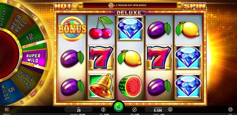 Hot Spin Deluxe Video Slot Game