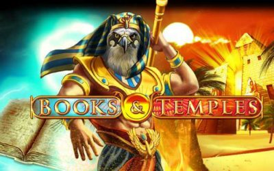 Books & Temples is an Egyptian Themed Slot Game from Gamomat