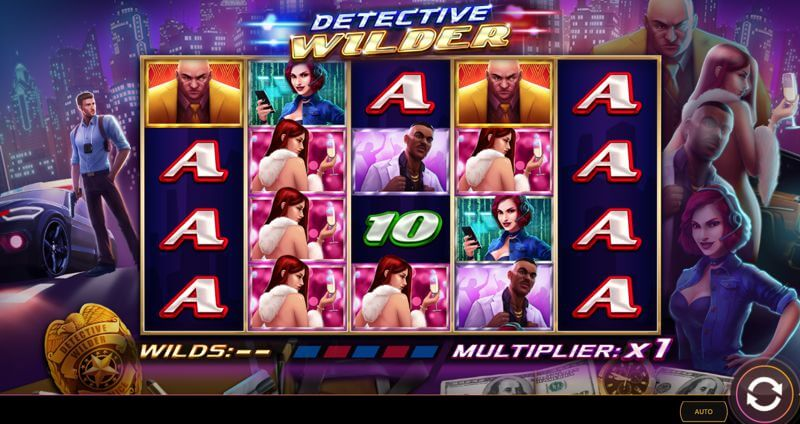 Detective Wilder Video Slot Game