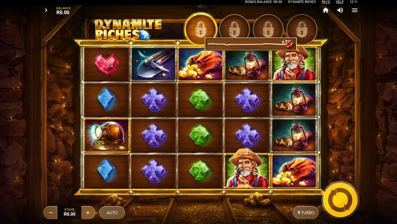 Dynamite Riches Video Slot Game
