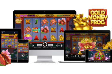Gold Monet Frog Slot Game