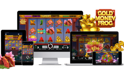 Begin your search for Gold Trinkets in Gold Money Frog™