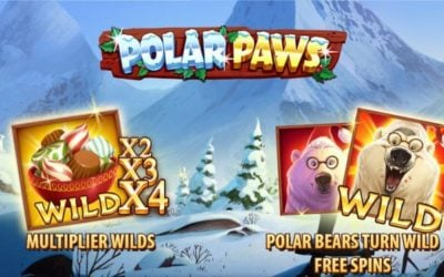 Polar Paws is an Christmas Themed Slot Game (late review)