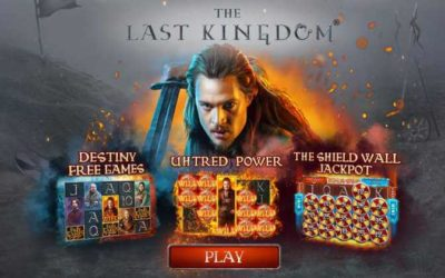 The Last Kingdom Slot Game is based on a British TV Series