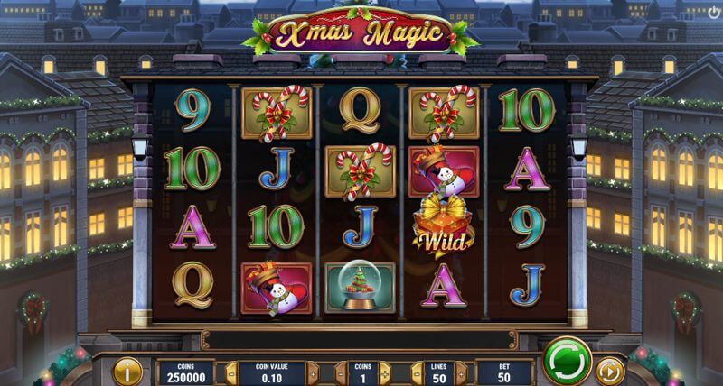 Xmas Magic Video Slot Game