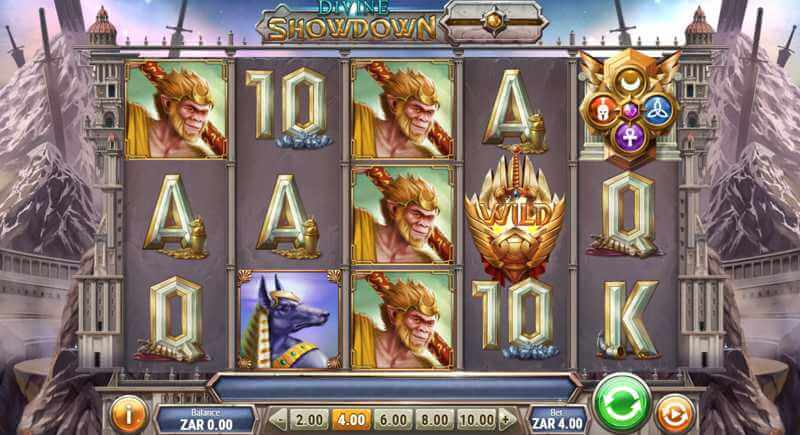 Divine Showdown Video Slot Game