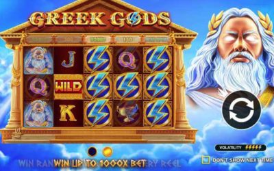 Greek Gods™ Video Slot – Ascend to Mount Olympus