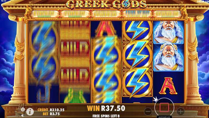 Greek Gods Video Slot Game