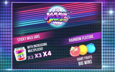 Jammin Jars is a Disco Themed Slot Game by Push Gaming