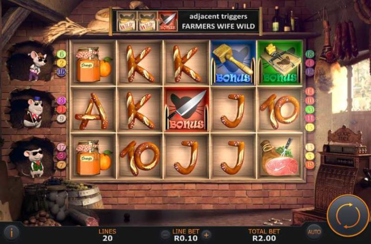 Pantry Plunder Video Slot