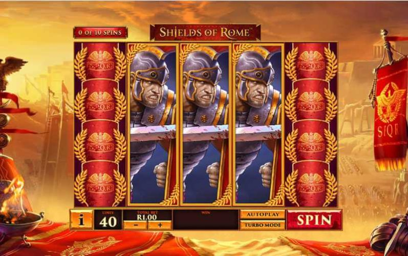 Shields of Rome Video Slot Game