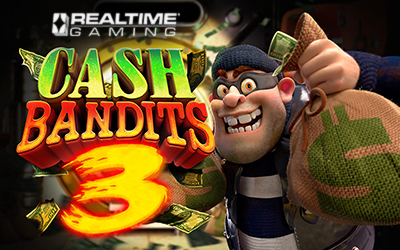 Cash Bandits 3 is the 3rd installment of this exciting Video slot game from RTG