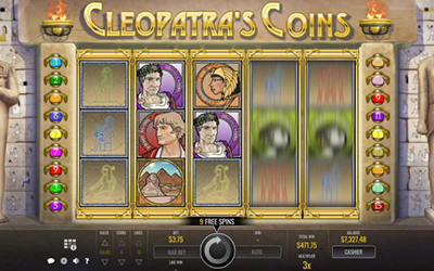 Cleopatra's Coins Is An Exciting Egyptian Themed Rival Gaming Video Slot