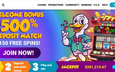 DuckyLuck Casino Review