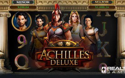 Achilles Deluxe Online Slot by Realtime Gaming