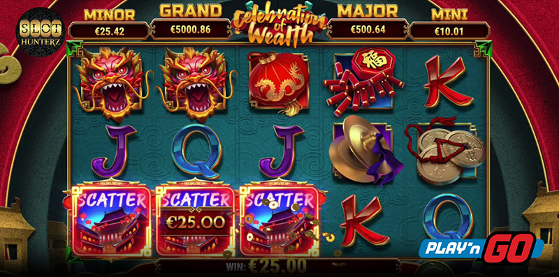 Celebration of Wealth Online Slot by Play'n Go