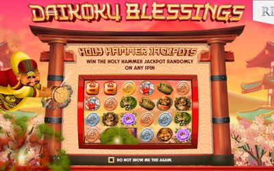 Daikoku Blessings Online Slot by Rival Gaming