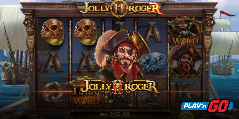 Jolly Roger 2 Online Slot by Play'n Go