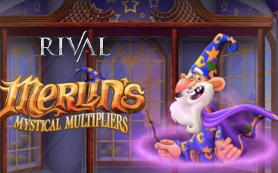 Merlin's Mystical Multipliers Online Slot by Rival Gaming