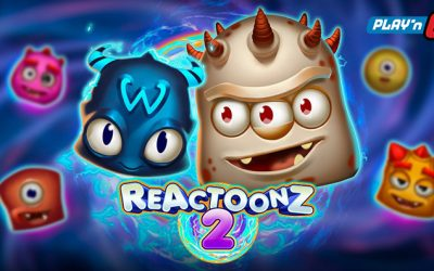 Reactoonz 2 Online Slot By Play'n Go