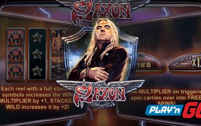 Saxon Online Slot by Play'n GO