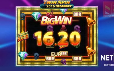 Twin Spin MegaWays Online Slot By NetEnt