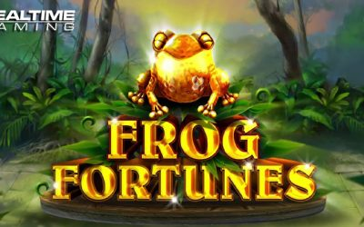 Frog Fortunes Online Slot By Realtime Gaming