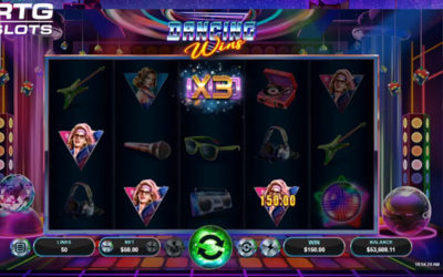 Dancing Wins Online Slot By RealTime Gaming