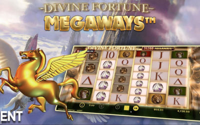 Divine Fortune MegaWays Online Slot By NetEnt
