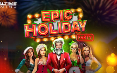 Epic Holiday Party Online Slot By Realtime Gaming