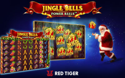 Jingle Bells Power Reels Online Slot By Red Tiger Gaming